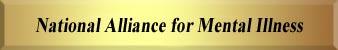 National Alliance for Mental Illness - NAMI